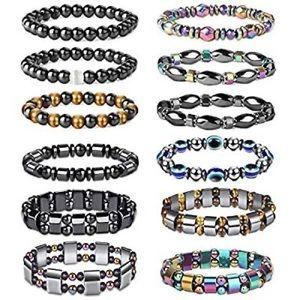 Hematite bracelets for men and women